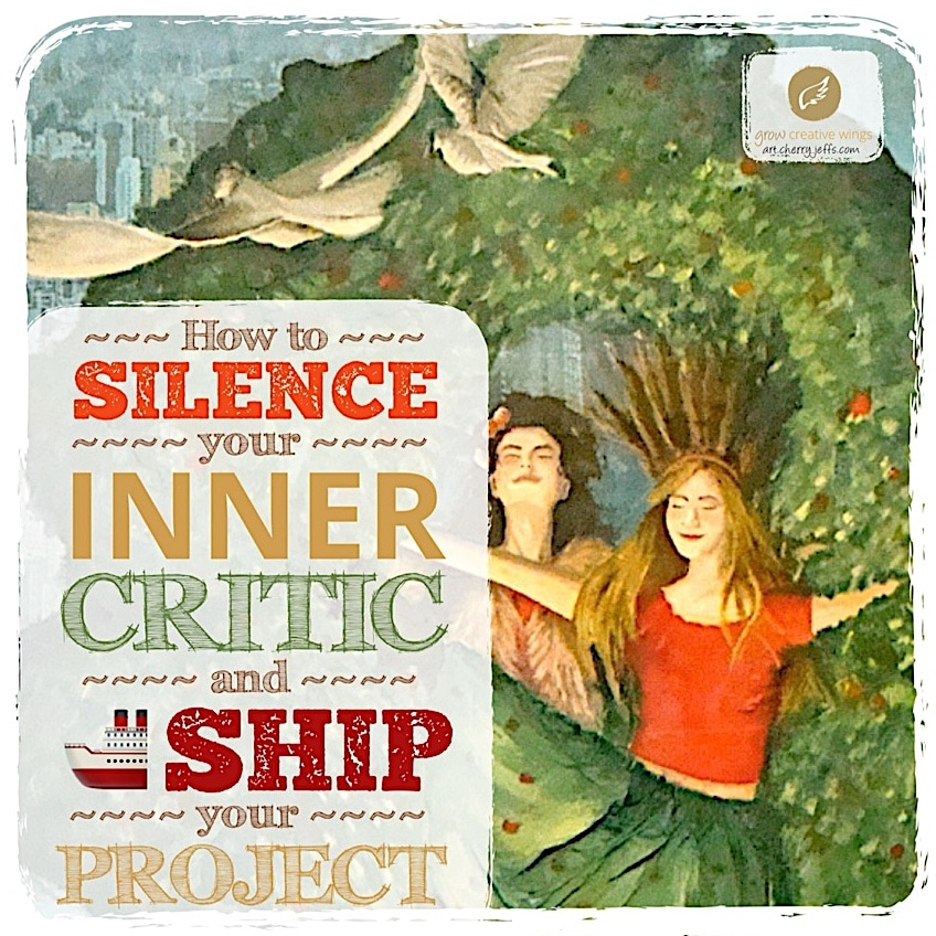 Silence your inner critic and ship your project Graphic